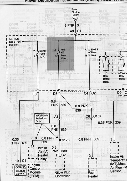 fuelheaterfuse dtc p0540 diesel place chevrolet and gmc diesel truck forums 1988 Chevy Truck Wiring Diagrams at webbmarketing.co